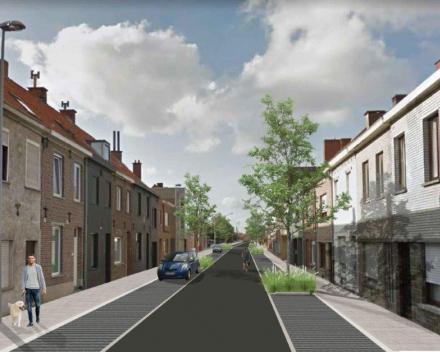 3d-beeld Gitsestraat - Vak Noordlaan - Oude Noordlaan