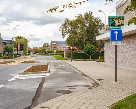 Aanpassing aan de schoolingang Leeuwerikstraat